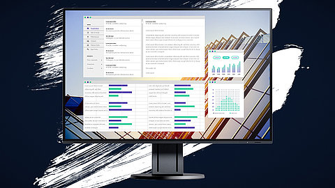 Qualità visiva Office Monitor